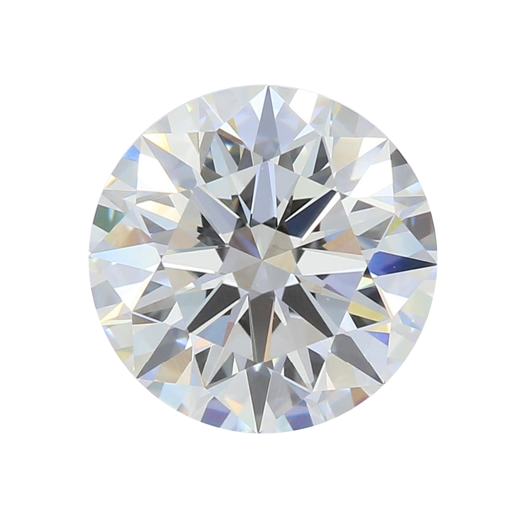 1.65 ct Round Lab Grown Diamond