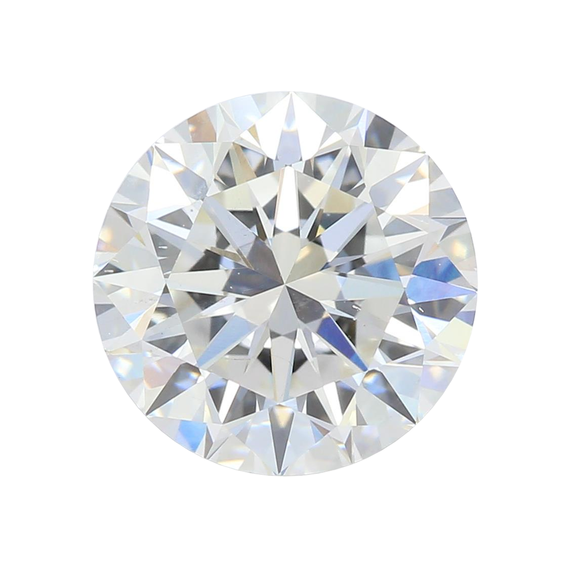 2.08 ct Round Lab Grown Diamond
