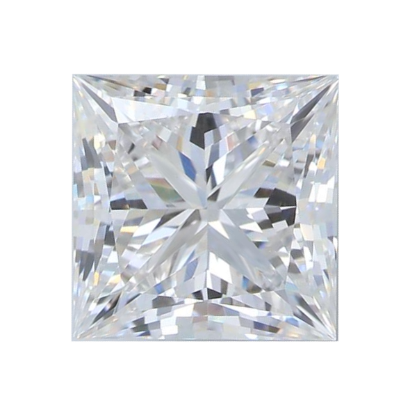 2.16 ct Princess Lab Grown Diamond