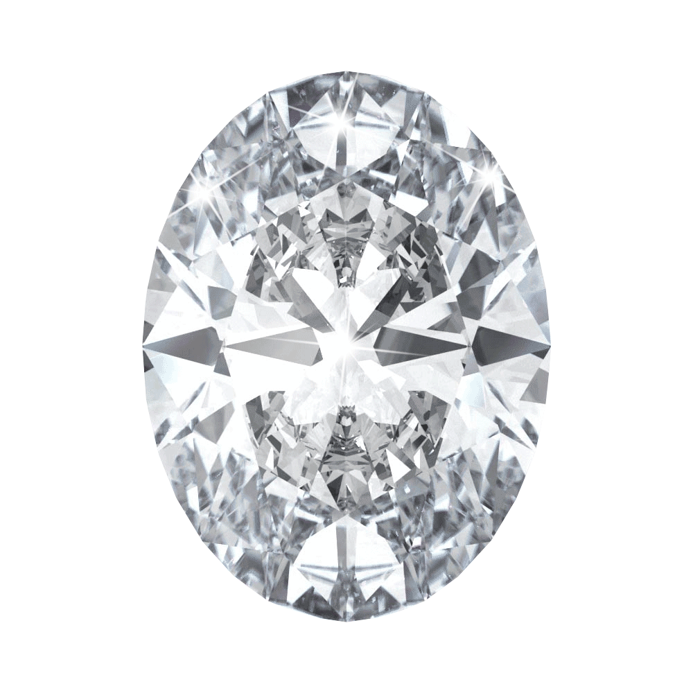 0.74 ct Oval Lab Grown Diamond