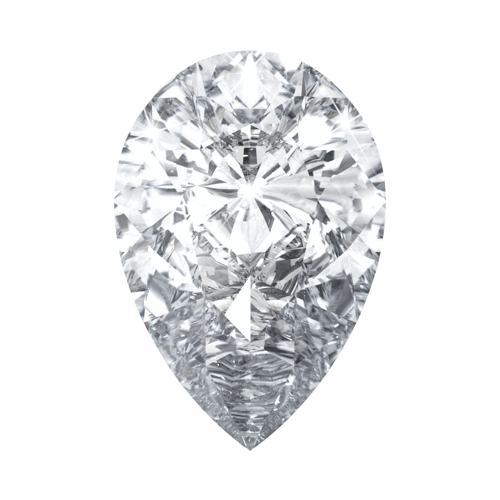 0.76 ct Pear Lab Grown Diamond