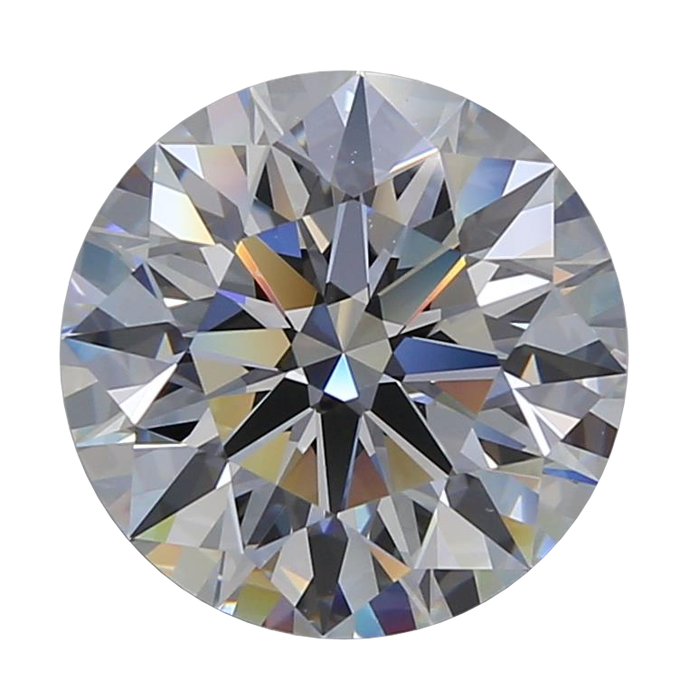 4.10 ct Round Lab Grown Diamond